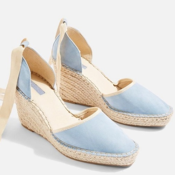 Topshop Shoes | Topshop Baby Blue